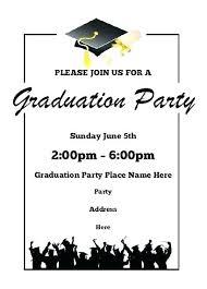 Graduation Invitation Letter Also Graduation Ceremony Invitation