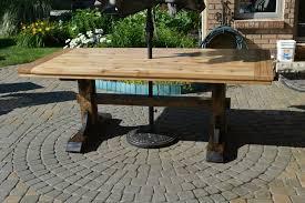 finished table farmhouse patio furniture54