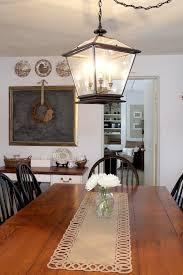 farmhouse lighting in the kitchen