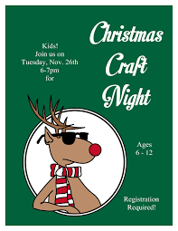Christmas Craft Christmas Craft Night Tales From An Open Book