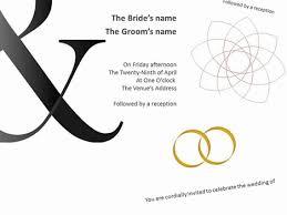 bold powerpoint templates bold wedding invitations
