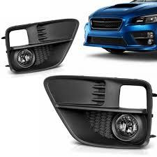 2006 Wrx Fog Light Kit Fog Lights For Subaru Wrx Sti 2015 2016 2017 Clear Lens Fit All Models With H11 12v 55w Bulbs Wiring Harness