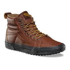 vans mte shoes. vans trainers - ua sk8-hi mte shoes cappuccino/black