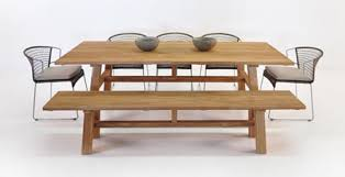 teak outdoor dining table and benches. outdoor dining sets teak table and benches i