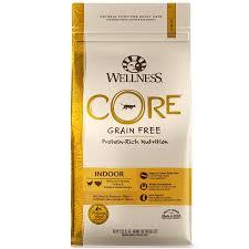 Wellness Core Natural Grain Free Dry Cat Food Indoor Chicken Turkey