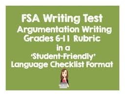 th Grade Argument Essay Rubric   Free Persuasive Essay Rubric     CCSS aligned Writing Rubric  Argument  Grades