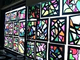stained glass stained glass paint supplies fake faux panels kits