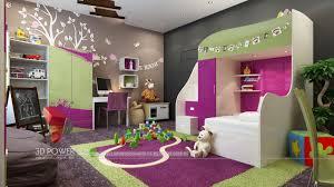 interior decoration. 3d-walkthrough-interior-design-children-room Interior Decoration