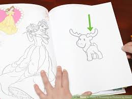 image led copy a drawing or picture by hand step 1