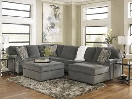 Sole 3pcs Oversized Modern Chenille Sectional Store Retail 1800