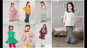 Pakistani Kids Salwar Kameez Designs Kids Fancy Frock Ideas 2019 20 Little Baby Girl Summer Shalwar Kameez