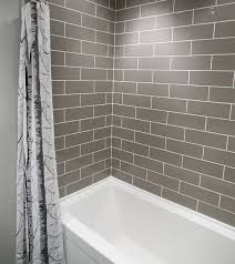 Bathroom Tile Patterns Magnificent 48 Best Serious About Subway Tile Images On Pinterest Bathroom Tile