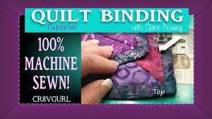 Quilt Binding - Mitered Corners By Machine - Episode 22 - YouTube & Quilt Binding - Mitered Corners By Machine - Episode 22 Adamdwight.com