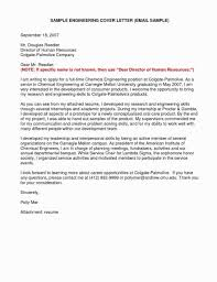 Electrical Engineering Internship Cover Letter Examples Engineering