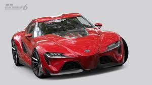 Small Blog V8: Toyota FT-1: The Real Supra Simulator