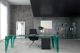 contemporary office decor. Captivating Modern Home Office With Corner Computer Desk Design Classy. Interior Photos. Contemporary Decor