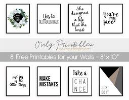 Free Wall Printables Only Printables 8 Free Printables For Your Walls