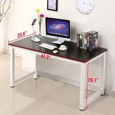 home office black desk. Amazon.com: Black Wood Computer Desk PC Laptop Table Workstation Study Home Office Furniture: Kitchen \u0026 Dining M