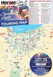 Bay Fm Christmas Lights Map Christmas Light Displays Brighten Colac Homes