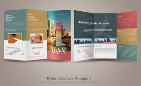Trifold Brochure Size Awesome Tri Fold Brochure Design Cool Tri Fold Brochure Designs