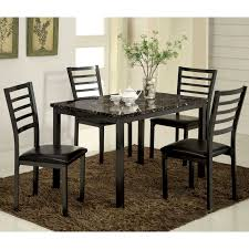 Shop Hartley Black 48 Inch Dining Table By Foa Free Shipping Today