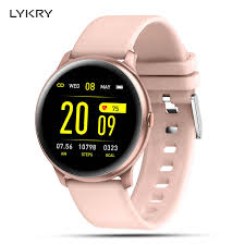 LYKRY <b>MX6 Smart watch</b> Men Women Heart Rate Monitor IP68 ...