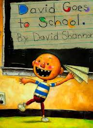 this book is so simple to read aloud but sparks great conversations with all kids the pictures are great to discuss as well as all of david s mishaps