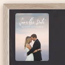 Everlasting Save The Date Magnets by Chasity Smith   Minted