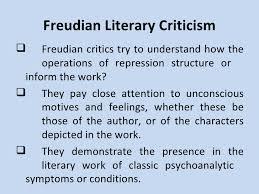 psychoanalytical criticism 5 freudian literary criticism
