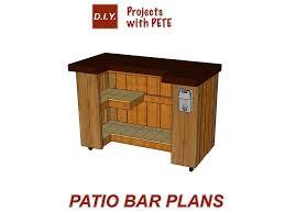 diy bar plans. Simple Plans DIY Patio Bar Bar Plans Throughout Diy I