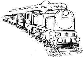 Small Picture Long Steam Train Coloring Page NetArt