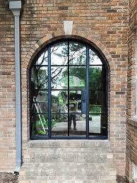 exterior steel doors. Custom Exterior Steel Door And Arched Windows Doors E