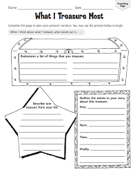 graphic organizers for personal narratives scholastic scholastic printables for personal narratives