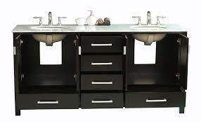 72 inch double sink vanity. stufurhome gm-6412-72-cr 72in malibu double sink vanity in espresso finish with carrara white marble top and mirror - bathroom vanities amazon.com 72 inch