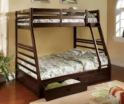 California Twin over Full Bunk Bed w Drawers