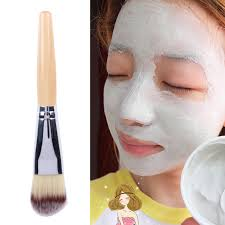 dropwow professional face mask bamboo handle mud mask mixing brush skin care cosmetic foundation makeup brushes tools maquiagem
