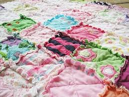 18 best Baby Clothes Quilt Ideas images on Pinterest | Baby ... & Memory Rag Quilts made from your baby clothing- Adamdwight.com