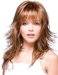 حلاقة الشعر على وجه مستدير الشعر المتوسطة قصات الشعر