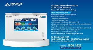 Tủ đông Hòa Phát Inverter HCFI 656S2Đ2, 300l 2 ngăn đông mát