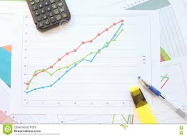 Growth Chart Markers Growth Chart Markers Stock Photo Image Of Data Different