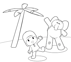 Small Picture Free Printable Pocoyo Coloring Pages For Kids ALEJANDRA RECIPES