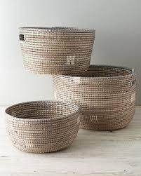 Eileen Fisher Senegal Natural Baskets