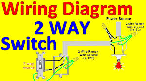 2 way light switch wiring diagrams youtube endear multiple outlets how to wire two separate switches & lights using the same power source at Wiring Diagram For Light Switch