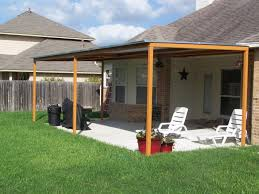 Creative Deck Painting Ideas Attached Patio Cover Designs Front