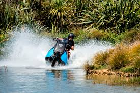 Bike Around On Land Or Ski Around Sea With This Amphibious Bike