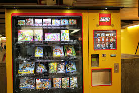 Lego Vending Machine Delectable And Then We Found A Lego Vending Machine SarahRose Flickr