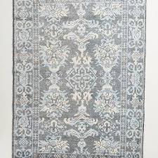 light gray ikat rug