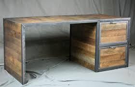 modern wood office furniture. Office Furniture Ideas Medium Size Reclaimed Wood Desk Attractive Bine Industrial Wooden Rustic . Modern