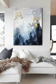 abstract art acrylic colorful art canvas art large art on canvas dining