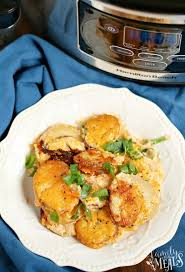 slow cooker scalloped potatoes family
